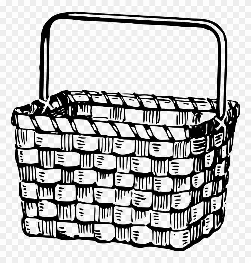 Basket Clip Art Free - Hot Air Balloon Basket Template #150905