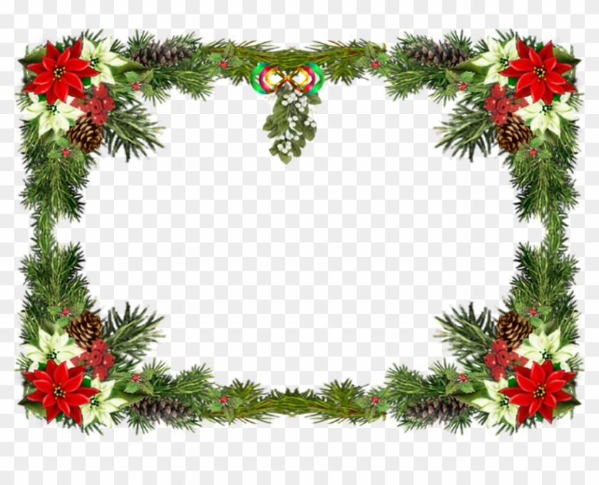 Christmas Borders And Frames Green Borders - Christmas Photo Frame ...