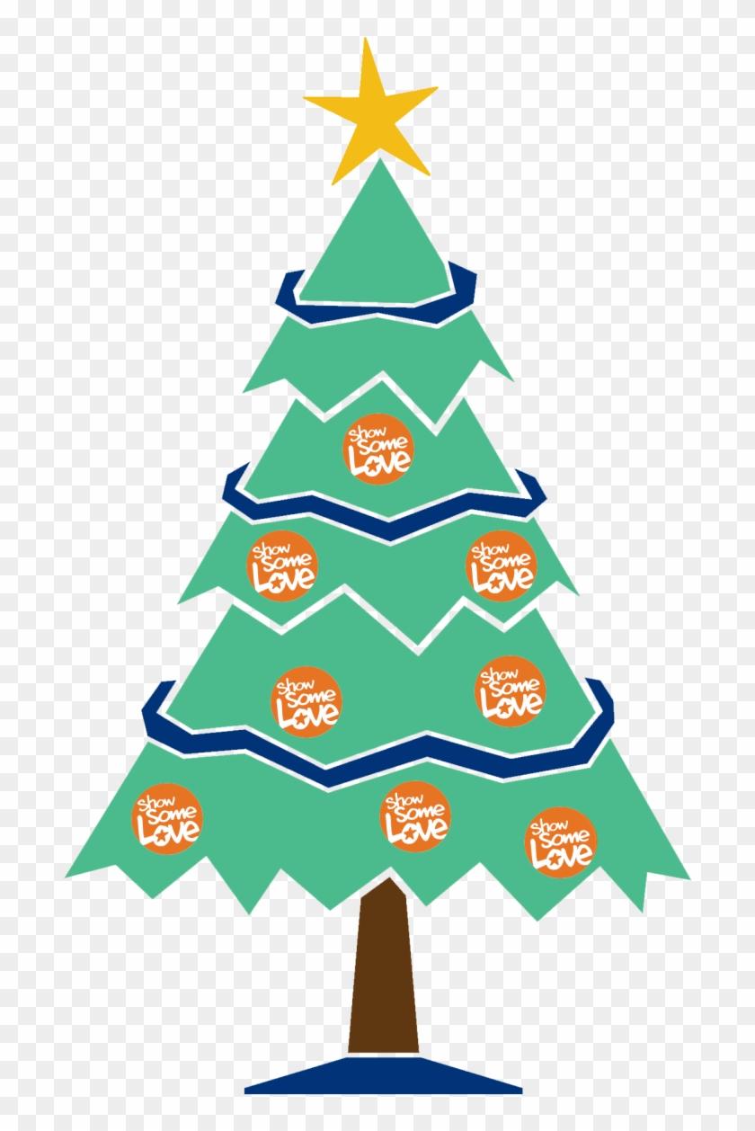 Ssl Snowflake Ssl Christmas Tree - Merry Christmas Tree Drawing #151222