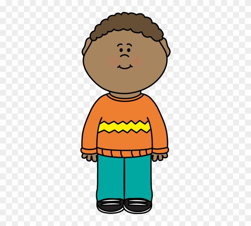 Kid Wearing A Sweater Clip Art - Christmas Jumper Clipart #151302