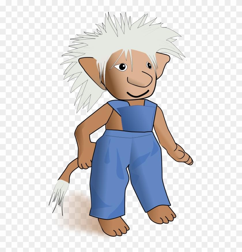 Free Cute Bear Head Free Troll Free Kindergarten Art - Custom Troll Pillow Case #151506