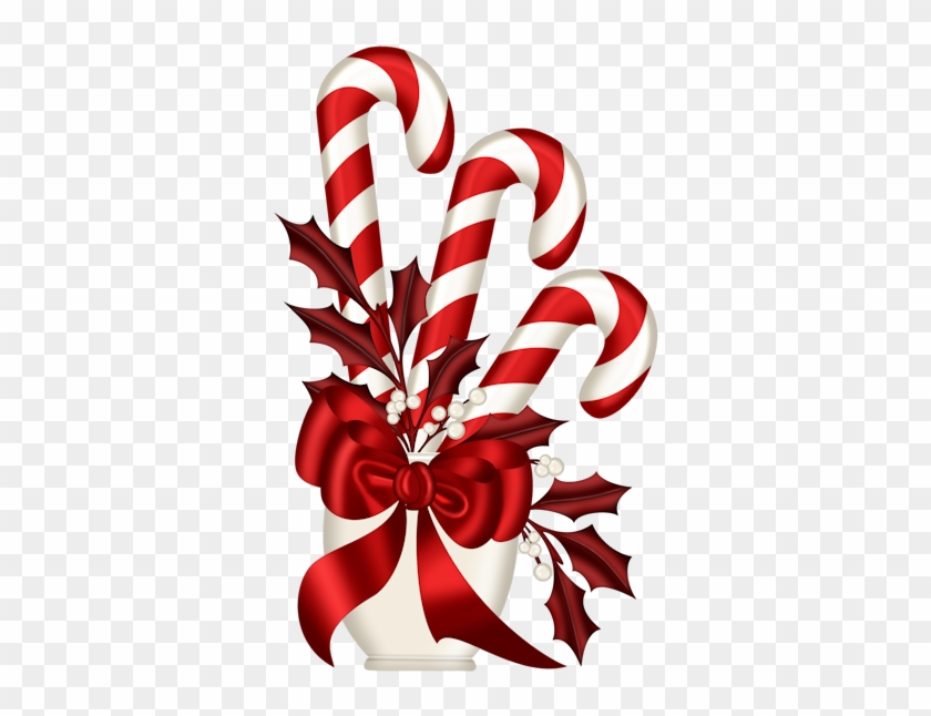 Christmas Clipart - Christmas Candy Cane Clipart #151770