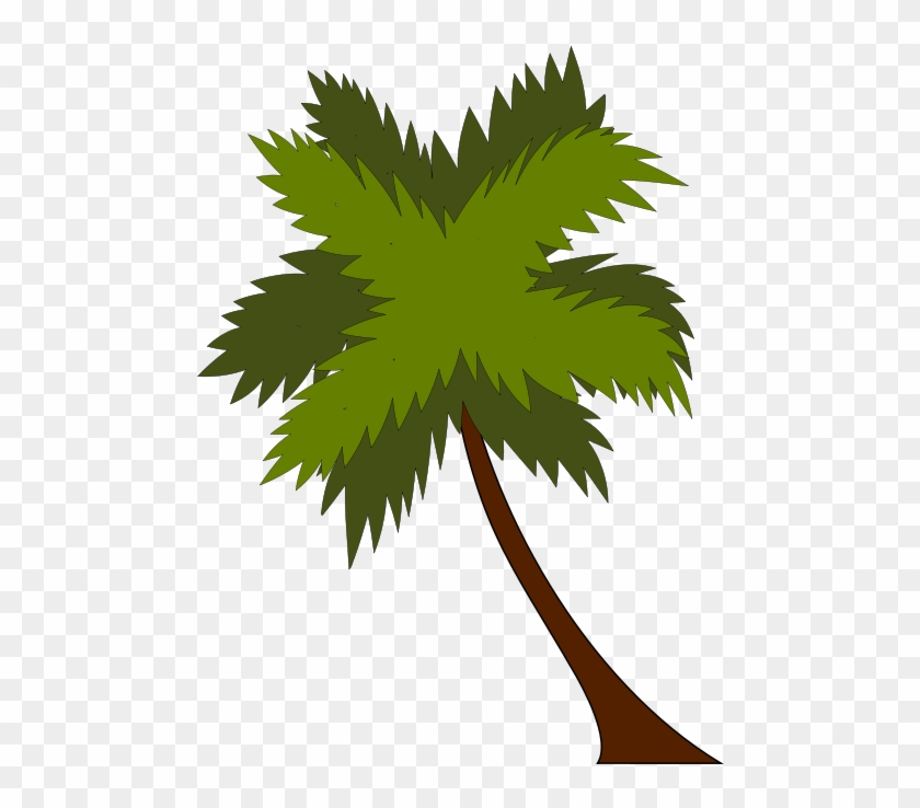 Summer Clipart Coconut Tree - Leaves Of Coconut Tree Vector Png #152736