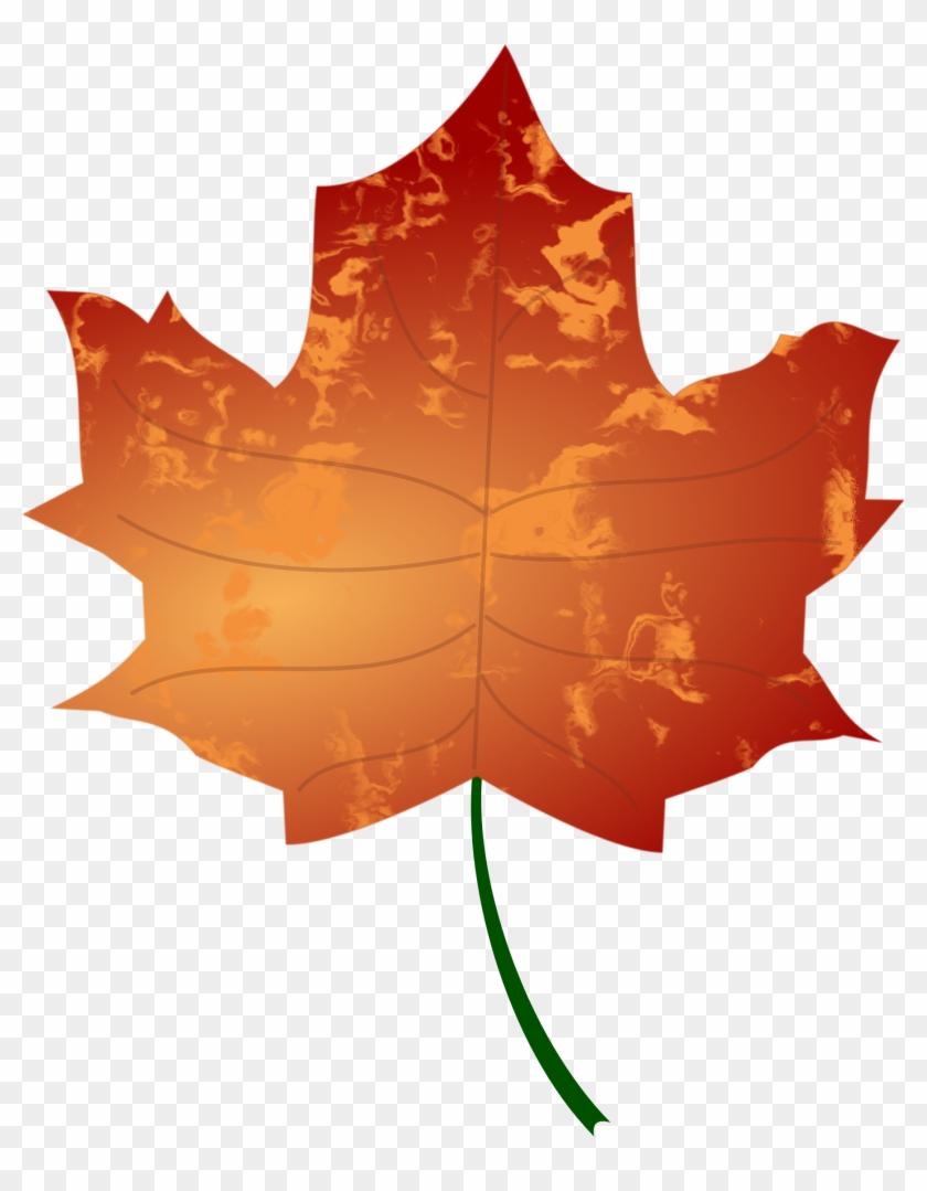 Leaf 3 - Autumn Leaves Clip Art #152788