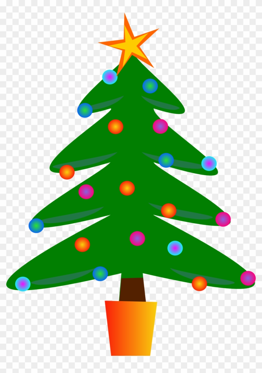 Christmas Tree Clipart - Christmas Tree Royalty Free #152798