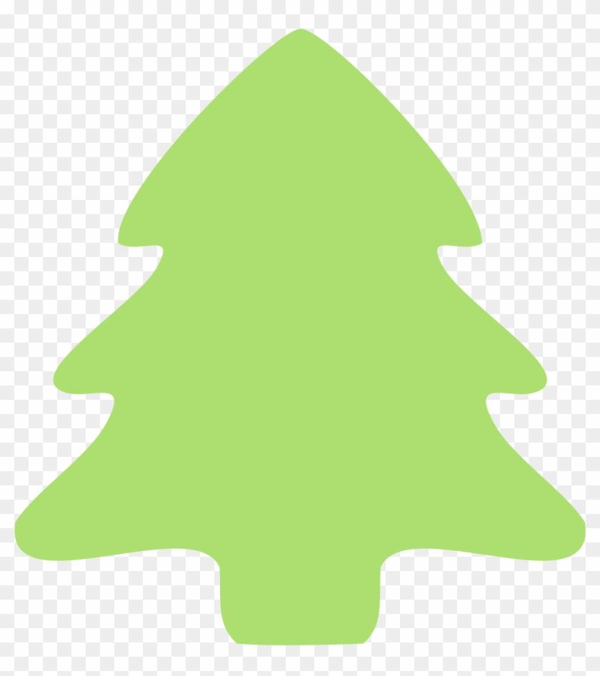 Molumen Christmas Tree Icon Coloring Book Colouring - Christmas Tree Border Green #152829
