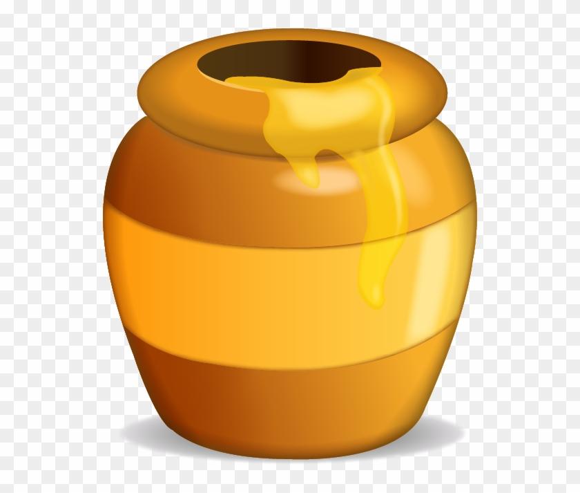 Coolest Honey Pot Clipart Honey Pot Emoji Icon Emoji - Honey Pot Clip Art #152852