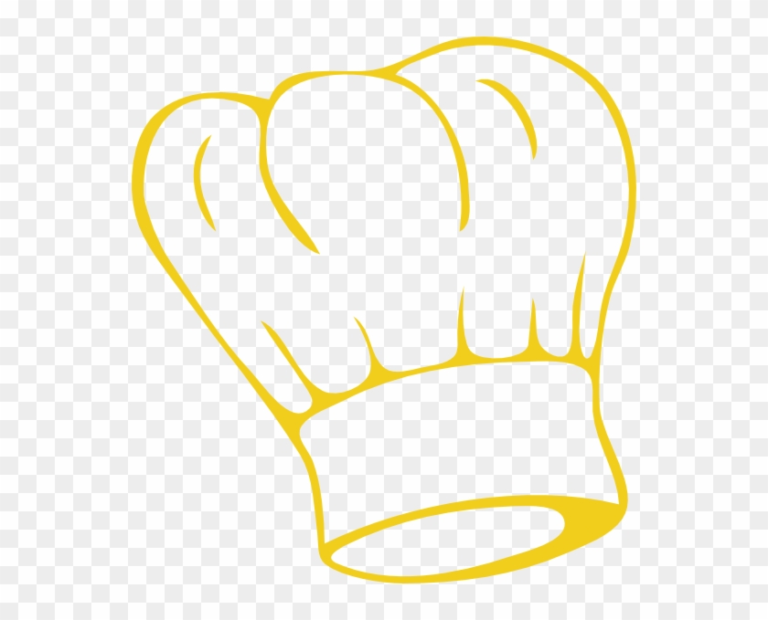 Gold Chef Hat Clipart #152929