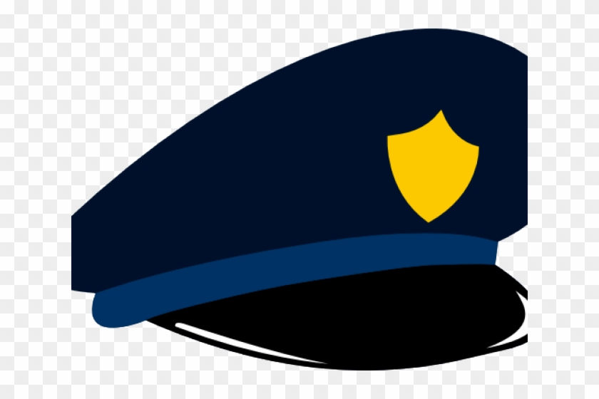 Cartoon Police Hat - Police Officer Police Hat Clipart #153025