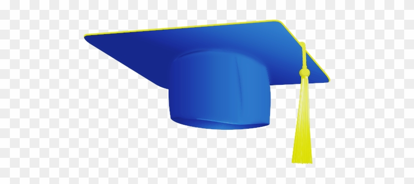 Blue Graduation Hat Clip Art Is Free For Personal Or - Pre K Graduation Hat #153087