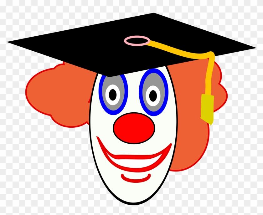 Onlinelabels Clip Art - Clown Face #153120