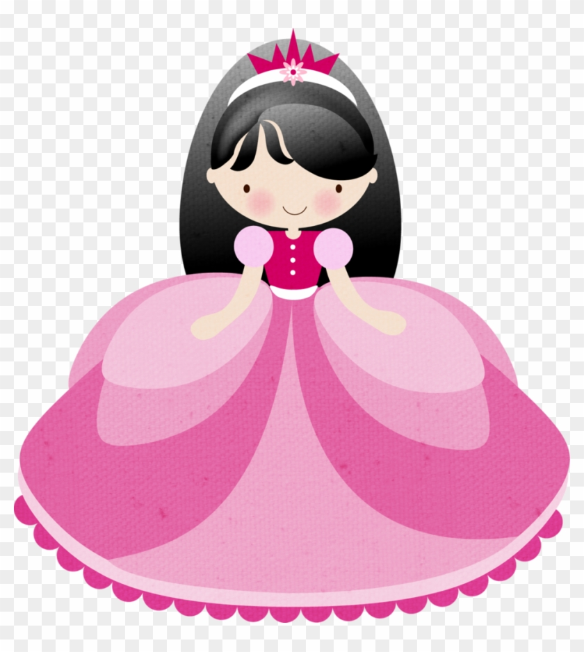 Princesas & Príncipes Etc - Black Haired Princess Cartoon #153125