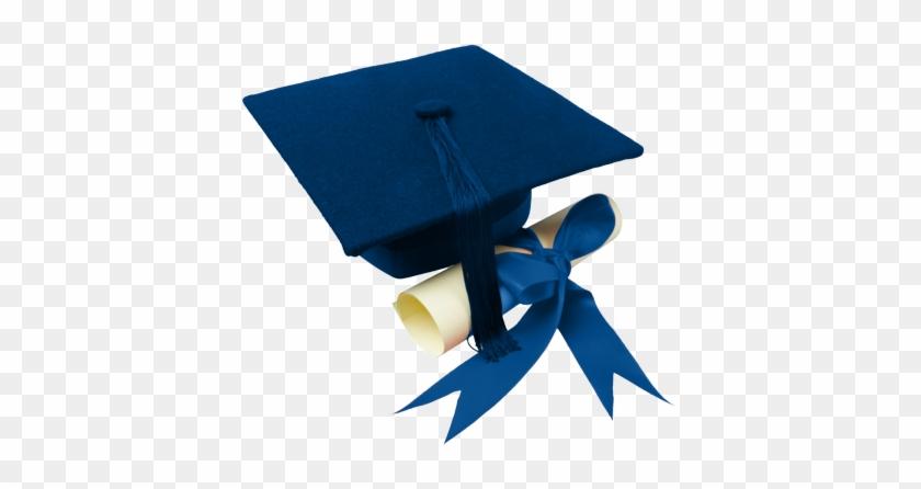 Psd Detail - Blue Cap And Diploma #153134