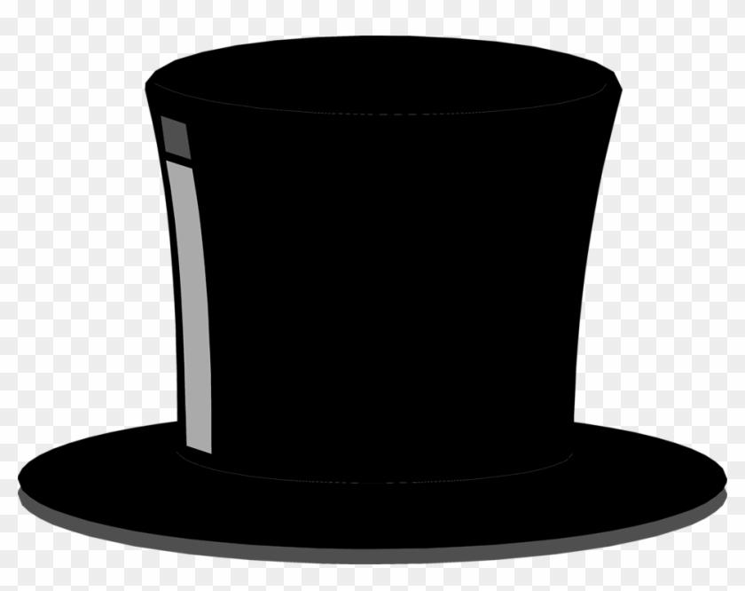 Pictures Of Top Hats - Black Top Hat Clip Art #153137