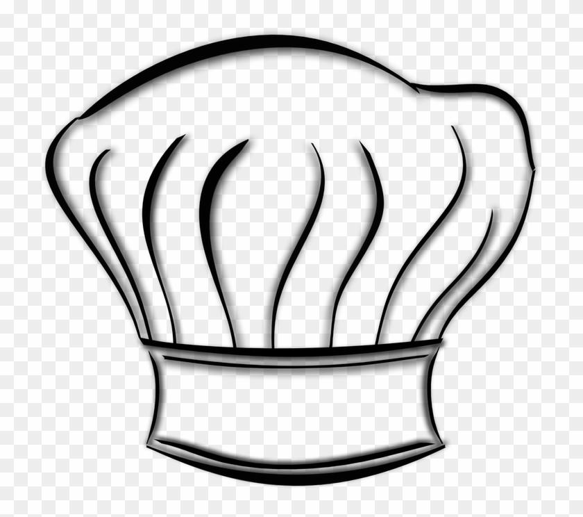 Toque Hat Cook Kitchen Chef Restaurant Meals Chapeau De