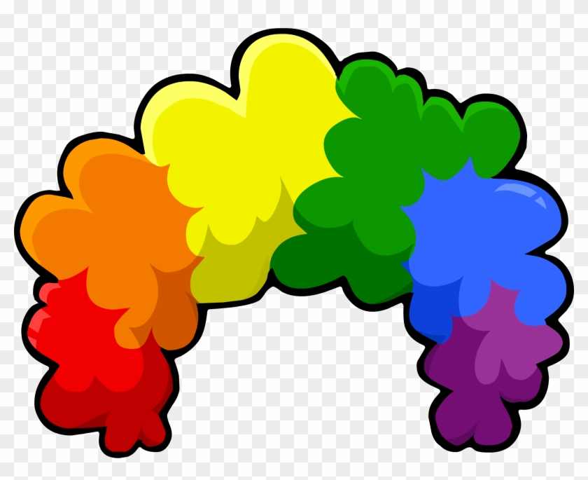 afro wig clip art clipart collection rainbow afro clip art free
