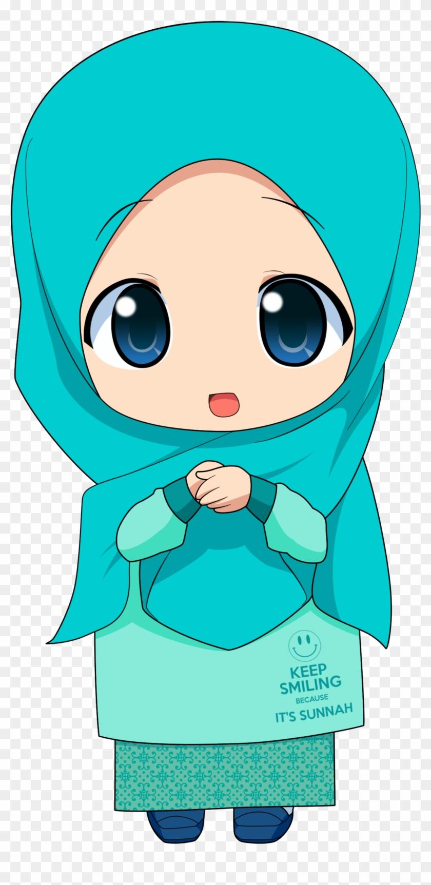 Chibi Muslimah 2 By Taj92 Chibi Muslim Free Transparent