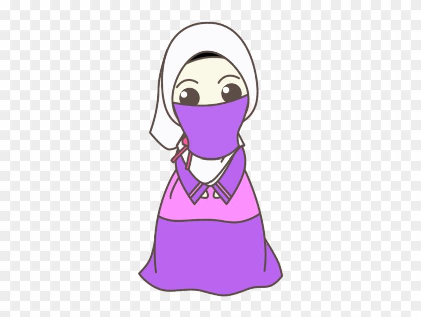 Muslim - Doodle Cute Muslim People Cartoon Png #153563