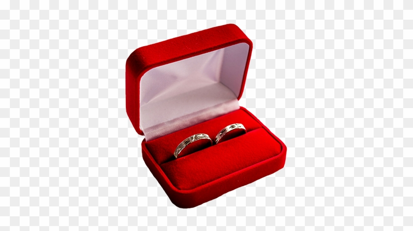 Wedding Rings In A Red Box Pink Wedding Clipart Wedding Ring Box