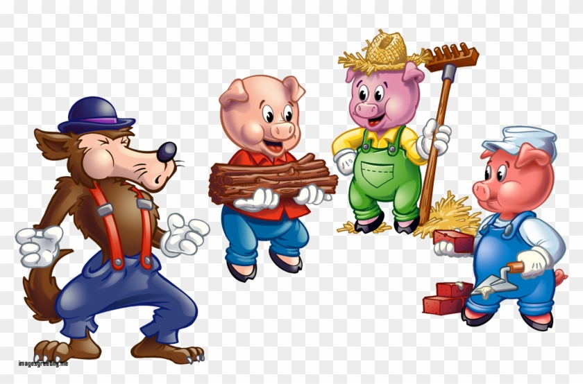 Awesome Clipart 50th Wedding Anniversary Clip Art 50th - Three Little Pigs Pigs #153838