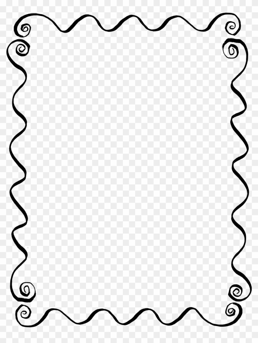 Digital Hand Drawn Frame Line Art Download - Tracing Letter Y - Free ...