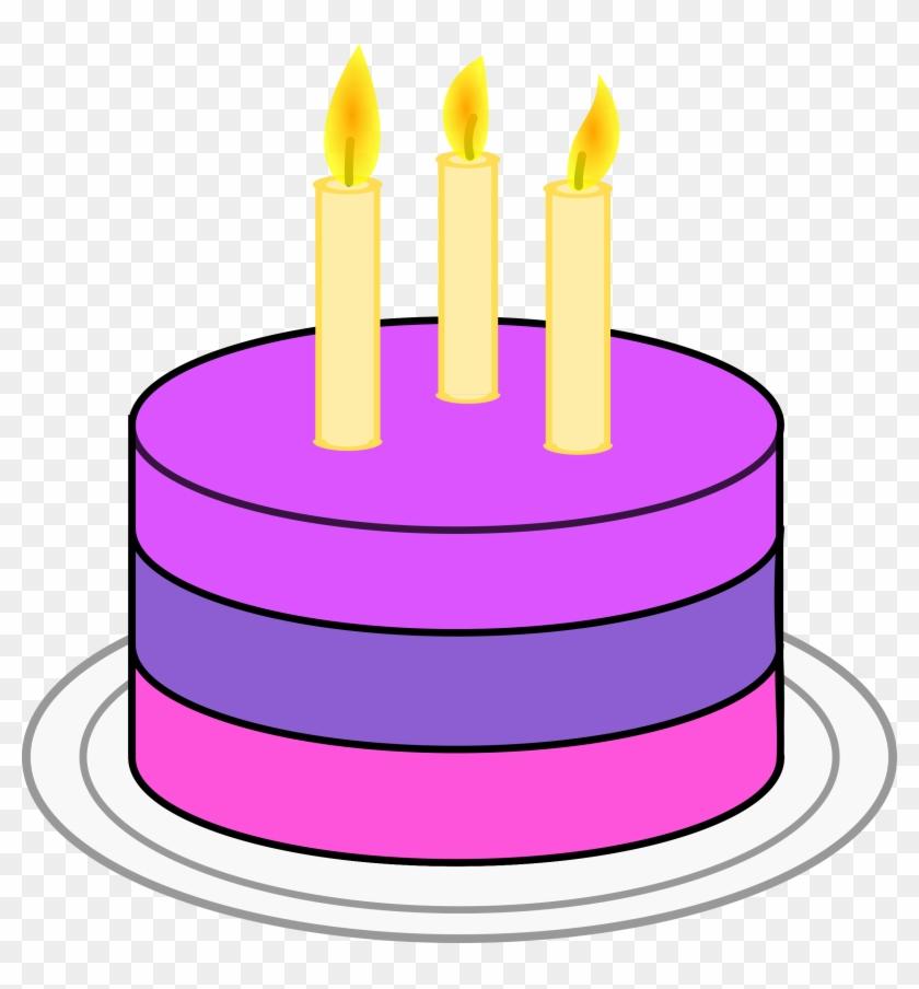 Clipart Cake Simple Birthday Birthday Cake Clip Art Simple Free