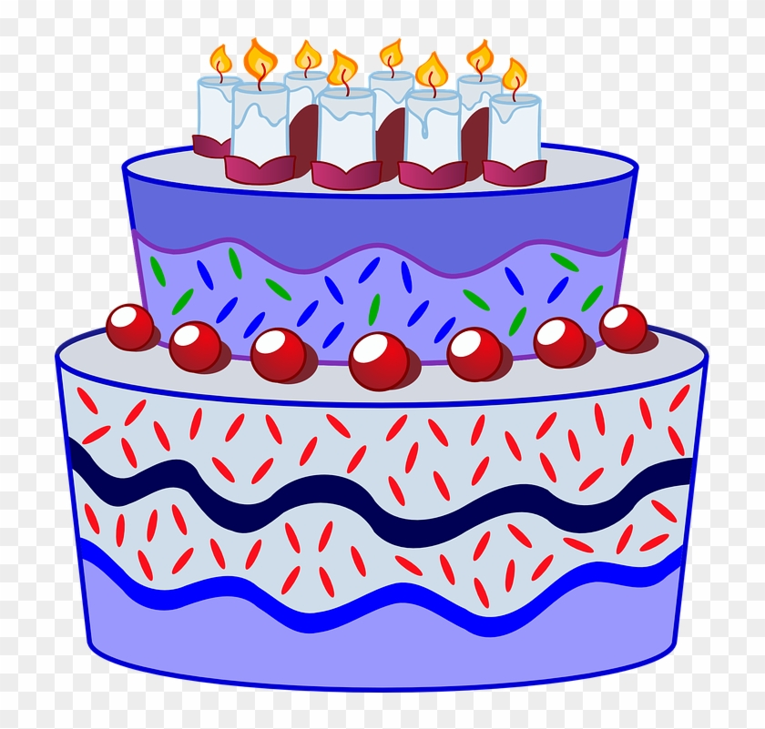 Cake Clipart C For - Blessing Happy Birthday Message #154507
