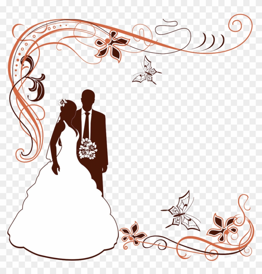 Wedding Invitation Clip Art Wedding Invitation Wedding Border