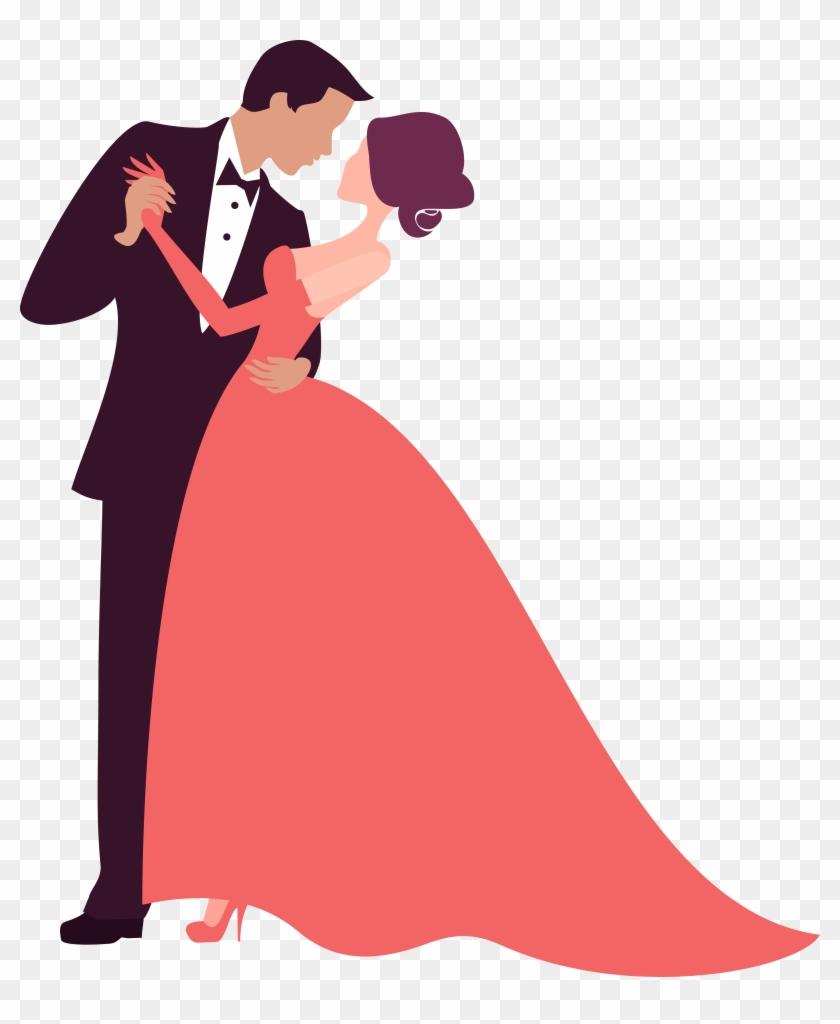 Wedding Invitation Bridegroom Silhouette - Free Vector Wedding Png ...