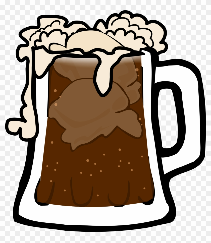 Big Image - Root Beer Float Clip Art #155209