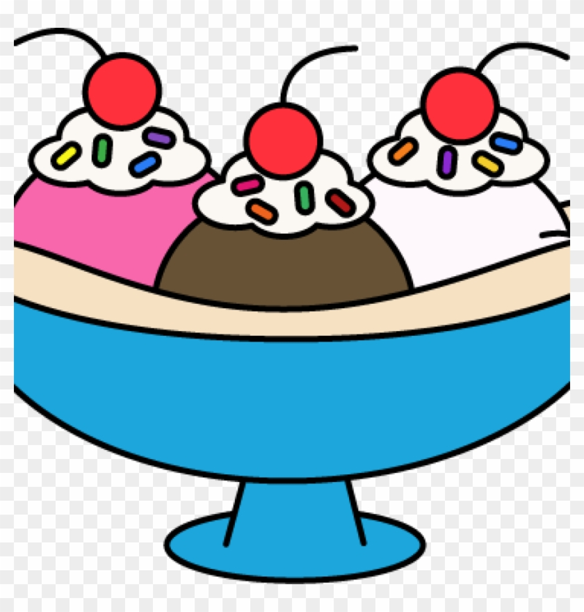 Ice Cream Sundae Clipart Question Mark Clipart Hatenylo - Ice Cream Banana Sundae Clipart #155632