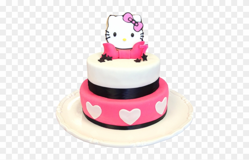 Hello Kitty Birthday Cakes Hello Kitty Cake Png Free Transparent