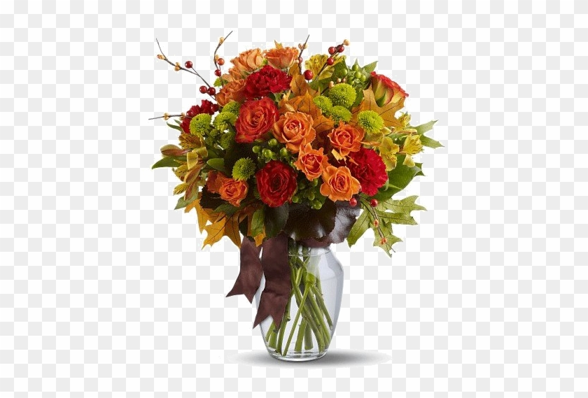 Tube Bouquet De Fleurs Automnal - Autumn Flowers For Weddings #816012
