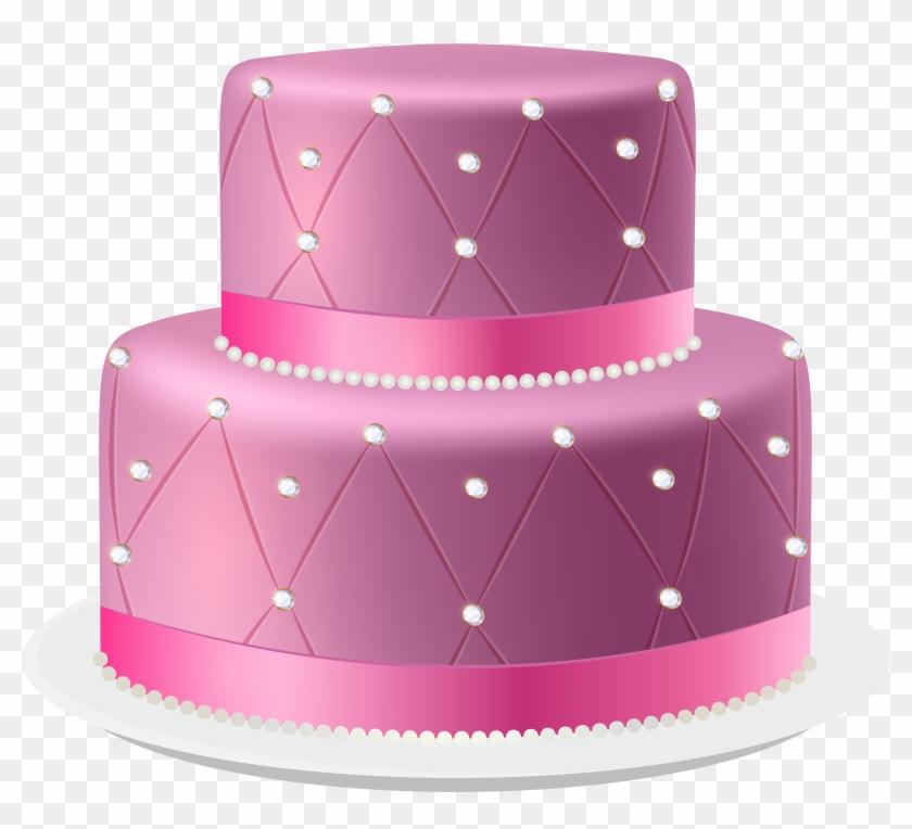 Pleasing Pink Cake Png Clip Art Imageu200B Gallery Yopriceville Pink Cake Funny Birthday Cards Online Hendilapandamsfinfo