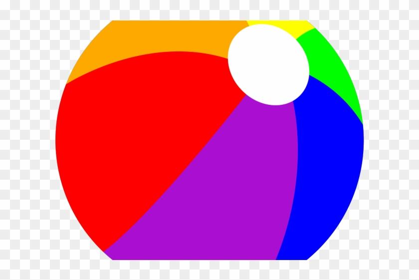 Beachball Cliparts - Beach Ball Transparent Clipart #816837