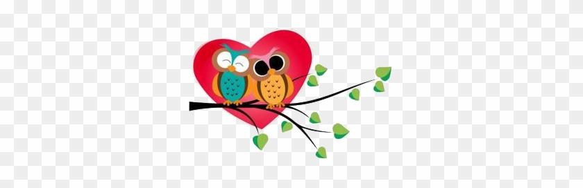 Owl Love Valentines Day Heart Clip Art Amor A La Familia Frases