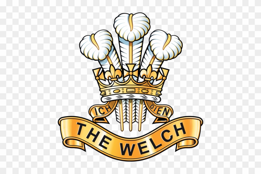 The Welch Regiment - Prince Of Wales's Division Key Ring (acrylic) #817605