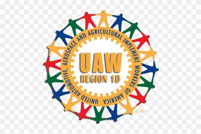 Uaw Region 1d Logo Png Format 06112015 With No Background - Fathers Day Cookie Cakes #817787