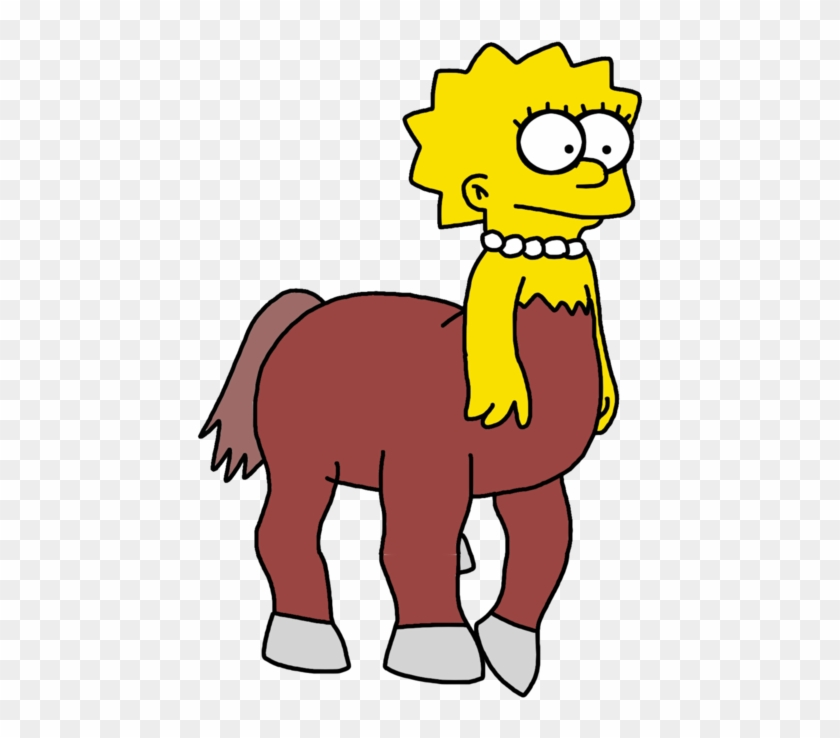 Lisa Simpson As Centaur - Lisa Simpson #818593