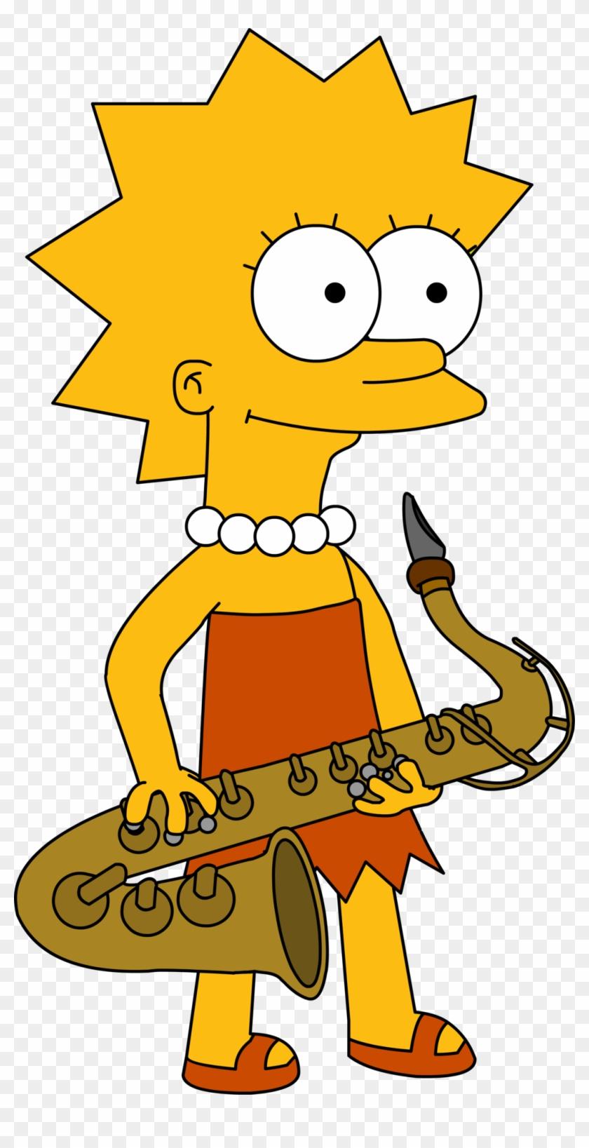 The 13 Megapixel Lisa Simpson By Rayfan9876 - Lisa Simpson En Vector #818609