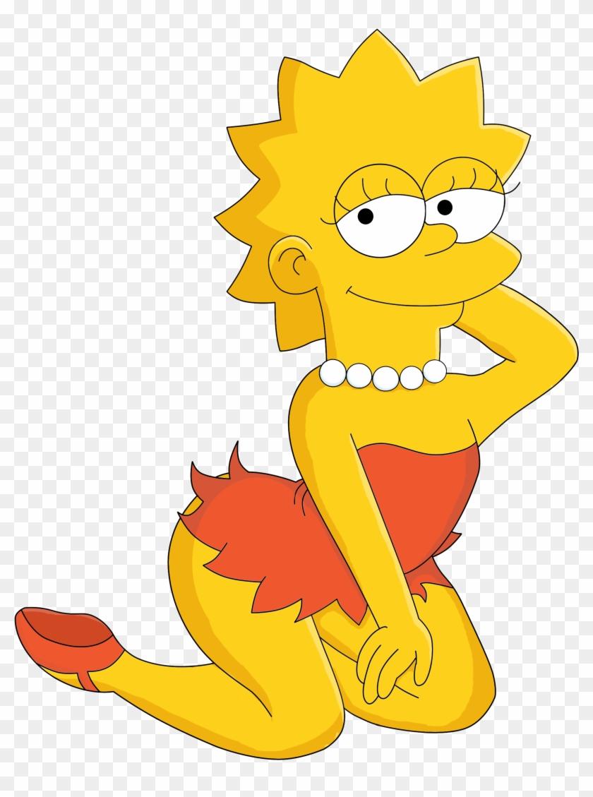 Lisa Simpson Art By Franchez2009 Lisa Simpson Art By - Simpsons Lisa Sexy #818618
