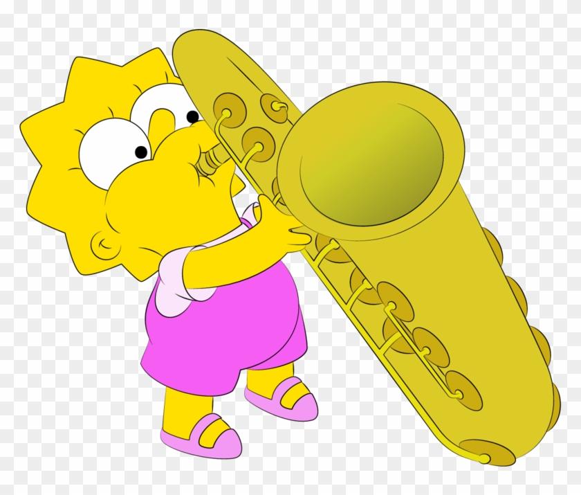 Lisa's Sax By Williamfreeman - Lisa Simpson Sax Png #818700