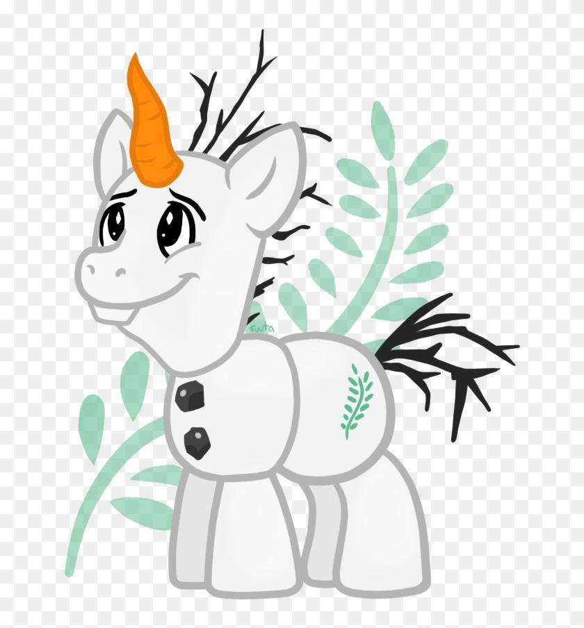 Olaf Elsa Rainbow Dash Pony White Mammal Vertebrate - Mlp Frozen Olaf #819512