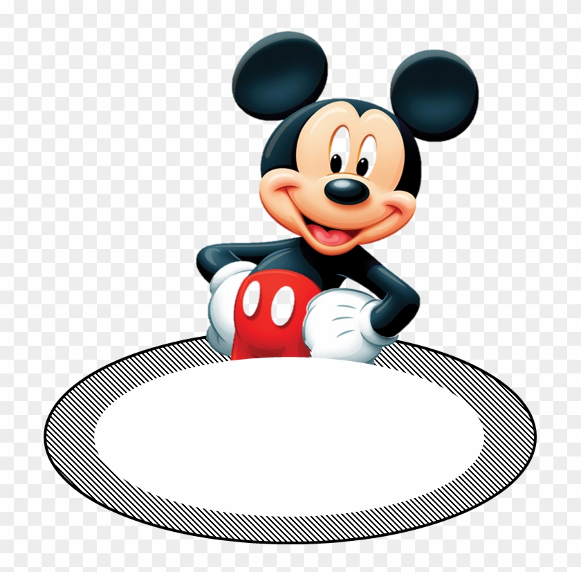 Mickey Printable Mickey Mouse Name Tag Template Free Transparent