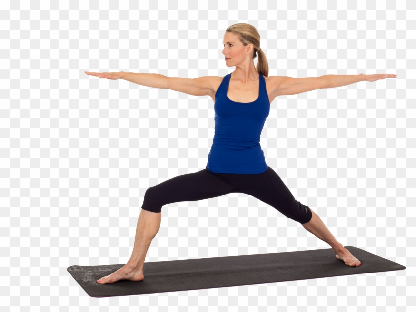 Aerobics Transparent Background Warrior Pose Yoga Free Transparent Png Clipart Images Download
