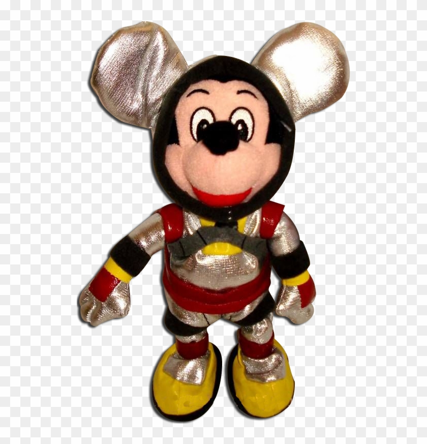 Mickey Mouse Bean Bag Spaceman Astronaut Disney Store Mickey Mouse