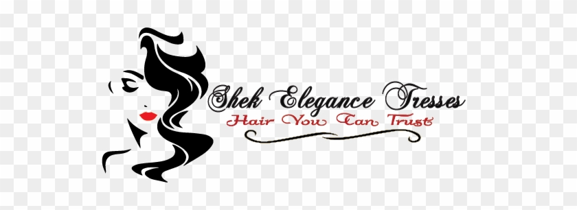 About Shek Elegance Tresses - Long Hair Woman Head Silhouette #821691