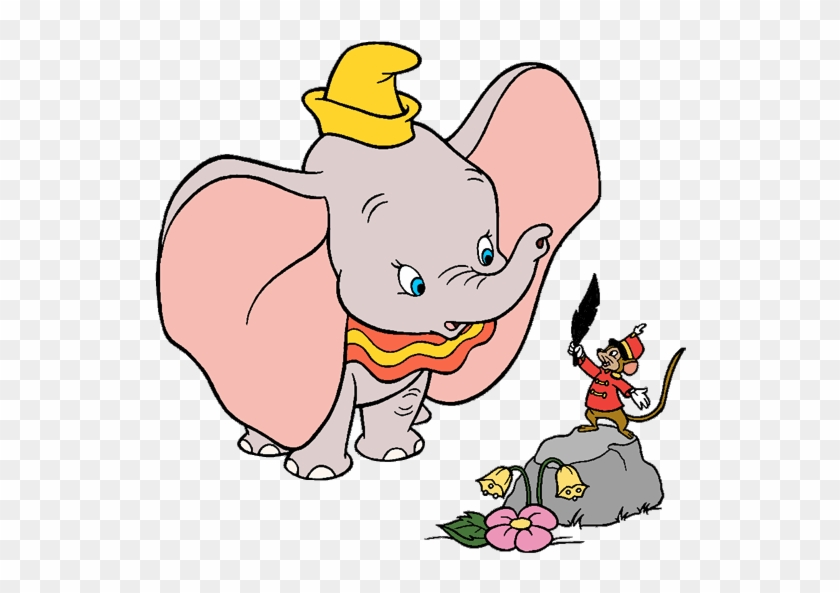 Images Of Dumbo, Timothy Q Mouse, Jim Crow And The - Dumbo Clip Art #821870