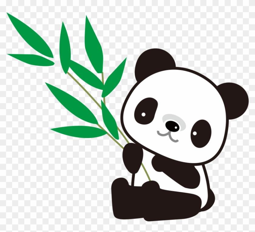 Giant Panda Bamboo Drawing Dibujos Animados Para Colorear De