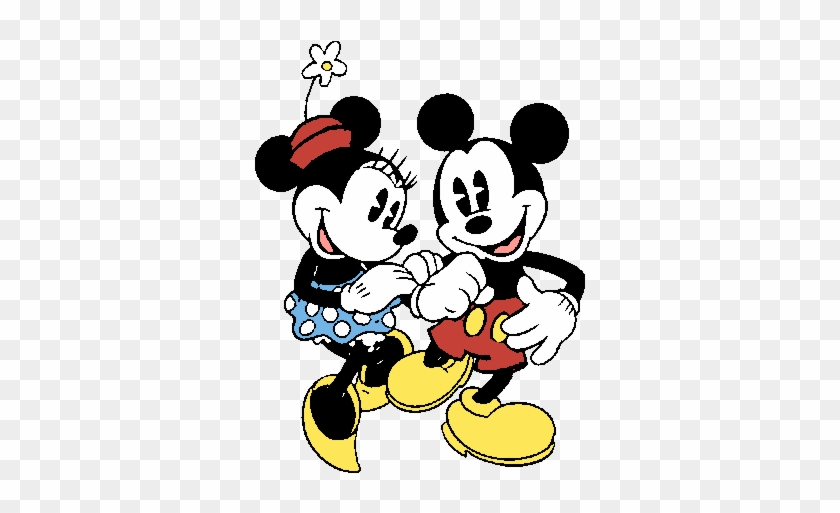 Mickey And Friends Wallpaper Entitled Vintage